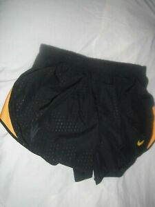 Nike Dri Fit Athletic Running Shorts lined Women's Size Med euc $4.25