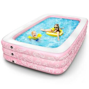 Inflatable Pool Above Ground Swimming Pool for Kiddie/Kids 22