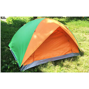 Pop Up 2 3 Person Camping Mesh Top Beach Tent Shelter UPF 50 with Carry Bag $30.99