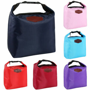 Insulated Lunch Bag Box Coolbag Picnic Food School Storage Lunchbox Adult Kids