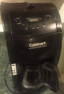 Cuisinart Automatic Grind and Brew 12 Cup Coffee Maker and Grinder DGB 475