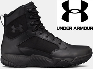 Under Armour UA Mens Stellar Tactical Side Zip Up 8quot; Quick Dry Boots 1303129 $66.99