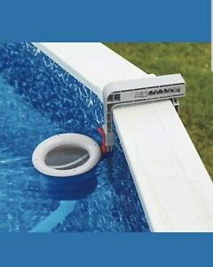 Mainstays Deluxe Wall Mount Pool Surface Skimmer for Collecting Debris, Leaves