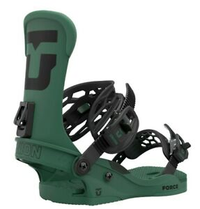 Union Force Snowboard Bindings Mens Size Medium US 8 10 Forest Green New 2021 $259.95
