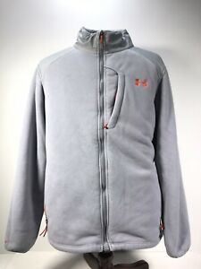 Under Armour Womens UA Storm1 Full Zip Fleece Hoodie Jacket Sherpa Lined 2XL $35.00