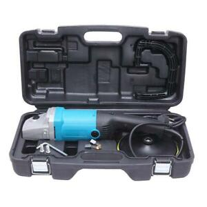 7-inch 6 Variable Speed Buffer Waxer w/ 3 Buffing / Polishing Pads for Car 1600W