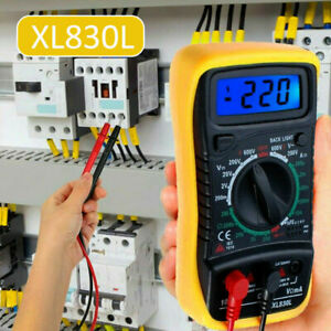 Digital Multimeter Pocket Portable Meter Equipment Industrial Voltage Tester $17.38