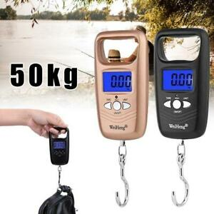 Portable Fishing Digital Weight Electronic Pockets Hanging Hook Luggage Scale