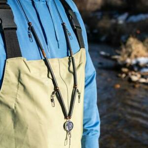 Fly Fishing Neck Lanyard w Zinger