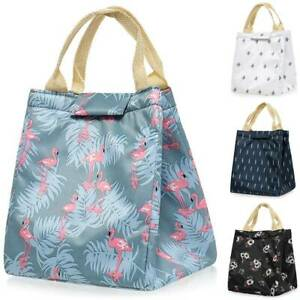 Insulated Lunch Bag Thermal Cooler Women Kids Picnic Food Tote Office School Box