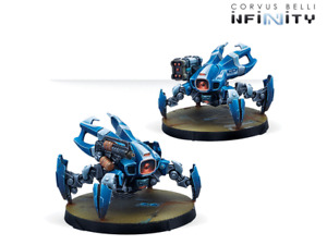 Infinity Panoceania Dronbot Remotes Pack NIB $29.00