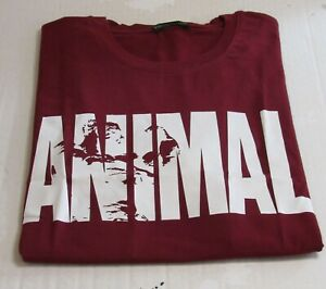 Gym Clothing ANIMAL Fitness Workout T Shirt Red XL Runs Small $8.00