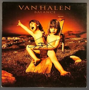Sammy Hagar Signed Van Halen Balance Vinyl LP RARE Our Of Print 1995 WB 9457601 $499.99