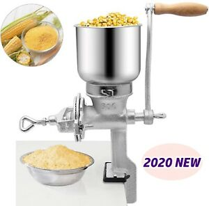 New Grinder Corn Coffee Food Wheat Manual Hand Grains Oats Nut Mill Crank Cast