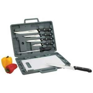 Maxam® Knife Set with Cutting Board (Case of 12)