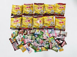 25 Piece Snack Box Asian Japanese Korean Chinese Variety Treat Tester Sample Lot $12.85