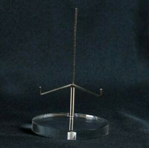 Adjustable Display Stand Small for Minerals Geodes Slabs and Collectibles