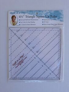 Quilt In A Day 6 1 2quot; Triangle Square Up Ruler $11.99