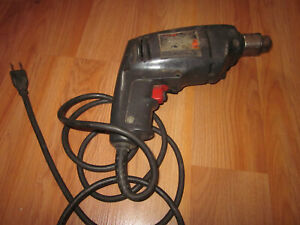 VINTAGE Rockwell Model  Power Drill 3/8