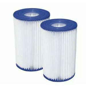 New INTEX 2-Pack TYPE B Universal Filter Cartridge Swimming Pool Replacement