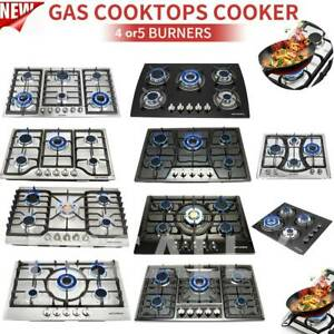 23quot; 28quot; 30quot; 34quot; 35quot; Cooktops 4 5 6 Burners Built In Stove NG LPG Gas Hobs 2Color