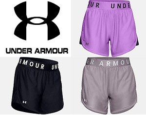 Under Armour Women's Shorts Play Up 5 Short Run Work Out Yoga FREE SHIP 1355791 $20.99