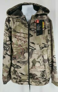 Under Armour Youth Cold Gear Storm Zip Up Loose Fit Hoodie Barren Camo NWT $49.99