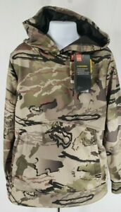 Under Armour Youth Cold Gear UA Storm Loose Fit Pull Over Hoodie Barren Camo NWT $45.99