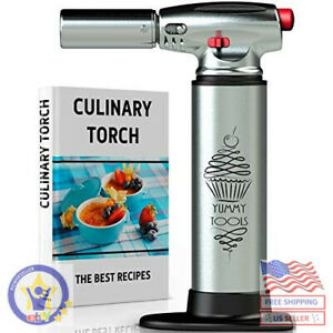CULINARY TORCH - Chef Torch for Cooking. Aluminum.