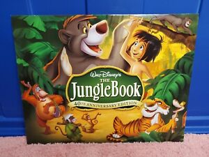 Disney Store Exclusive The Jungle Book Lithographs Set Of 4 Disney Lithographs $14.99