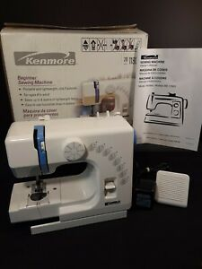 Kenmore 11803 Beginner Small Sewing Machine Portable W Pedal Cord Instructions $60.00