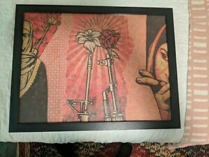 SUPPLY & DEMAND EXHIBITION POSTER : LITHOGRAPH : OBEY GIANT : SHEPARD FAIREY : $100.00