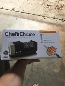 Chef's Choice Precision Edge Knife Sharpener- Electric.  New in box.