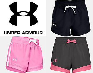 Under Armour Girls Youth Sprint Shorts Running Work Out Yoga FREE SHIP 1341124 $17.99