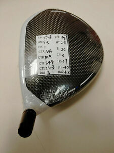 2020 TaylorMade SIM Tour Issue Driver 9* Head Only RH 199.7g