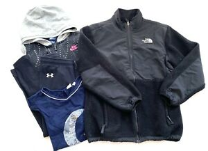 The North Face Fleece Jacket Girls Size XL Clothing Lot Nike & Under Armour $20.00