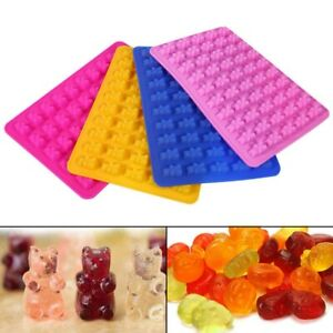 50 Holes Cute Dinosaur Silicone Cake Molds Gummy Chocolate Candy Fondant Mould