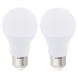 (2 Pack) A19 LED Bulbs 15W 100W Equivalent Dimmable Medium E26 3000K Soft White