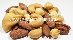 5LBS SALTED MIXED NUTS Deluxe Roasted Mixed Nuts No Peanuts FREE SHIPPING $37.99