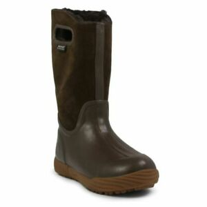 Bogs Youth Girls Prairie Solid Boots Brown 1 New $42.49