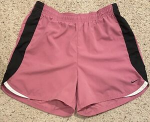 CUTE WOMEN'S NIKE PINK, Black, White Athletic SHORTS SIZE SMALL RUNNING $13.99