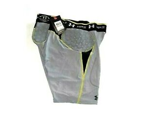 Under Armour MPZ STEALTH GIRDLE PADDED Compression Baselayer Football Shorts $29.92
