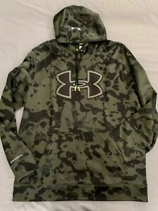 Excellent Men's Under Armour STORM Hunting Camo Hoodie SIZE XL X LARGE $39.99
