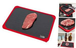 ThawMax Rapid Defrosting Tray Defrost Chicken Steak and other Meats Quickly
