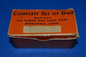 LOT #78 LYMAN 310 IDEAL EMPTY BOX DIES