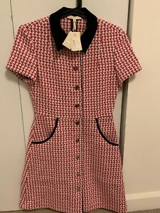 Maje Dress Size 2 Tweed Style Dress