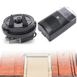 110V Electric Roller Remote Door Opener 250N Safetyamp;Powerful Rolling Door Opener