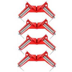 4Pcs 90 Degree Right Angle Clip Corner Clamp Photo Picture Frame Miter Clamp $15.18