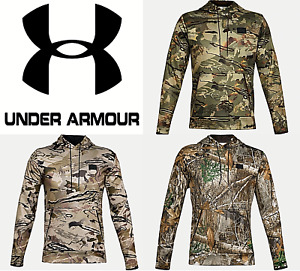 Under Armour UA Mens Armourfuse Camo Hoodie Hooded Sweatshirt 1357896 $37.99