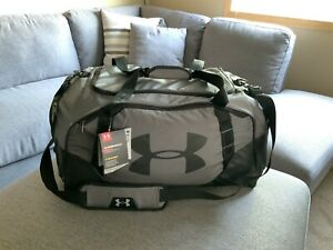 Under Armour Undeniable 3.0 Duffle Bag Large 82L New With Tags GRAY BLACK $35.99
